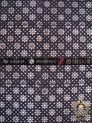 Batik Klasik Jogja Motif Kembang Tanjung Kecil