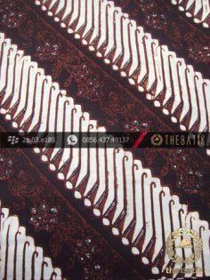 Kain Batik Klasik Jogja Motif Parang Tuding