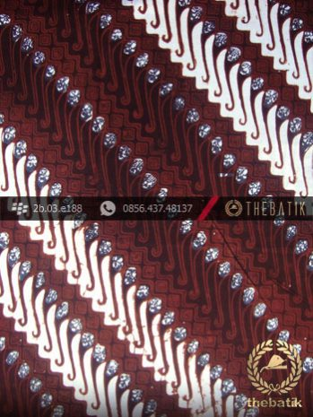Kain Batik Klasik Jogja Motif Parang Tuding Seling