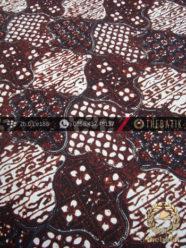 Batik Klasik Jogja Motif Sekar Jagad Hitam