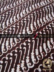 Batik Klasik Jogja Motif Parang Canthel Hitam