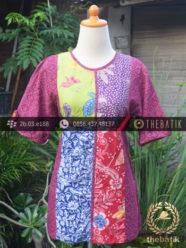 Model Baju Batik Kerja Wanita – Tambal Emboss