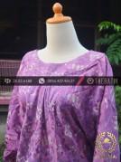 Model Baju Batik Wanita – Viscose Ungu