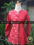 Model Pakaian Batik Kombinasi Embos Terbaru