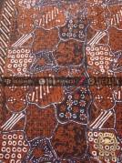 Kain Batik Cap Tulis Motif Sekarjagad Coklat