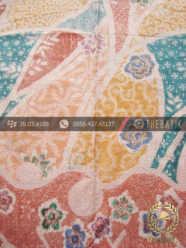 Kain Batik Pekalongan Emboss Floral Modern