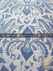 Kain Batik Warna Alam Tulis Motif Pisan Bali Indigofera