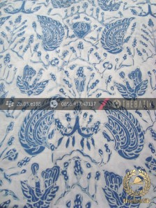 Kain Batik Warna Alam Tulis Motif Sido Asih Indigofera
