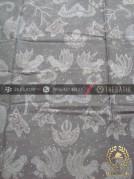 Kain Batik Warna Alam Tulis Motif Wahyu Tumurun Abu-Abu