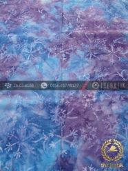 Kain Batik Modern Motif Gradasi Warna Biru
