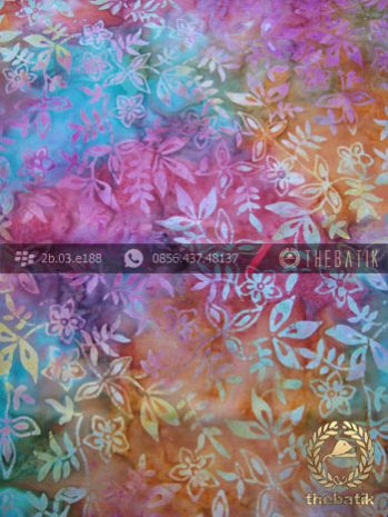 Kain Batik Modern Motif Gradasi Warna-Warni