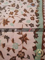 Kain Batik Tulis Motif Floral Lawasan Hijau