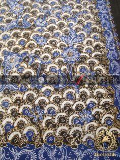 Batik Lasem Tulis Motif Gunung Ringgit Hijau Biru