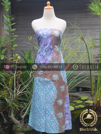 Kain Batik Pekalongan Cap Tulis Pulau Modern-2
