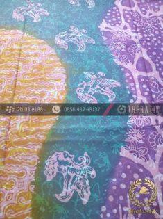 Kain Batik Pekalongan Cap Tulis Pulau Modern-3