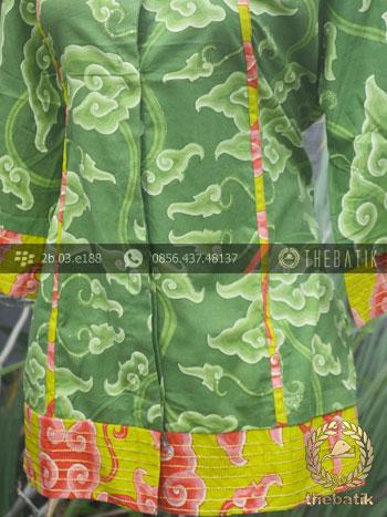 Model Baju Batik Mega Mendung Wanita Modern