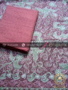 Paket Kain Batik Tulis Lasem – Dobi Coklat Hijau