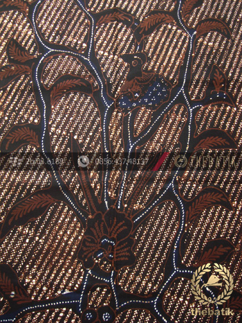 Kain Batik Motif Klasik Buketan Latar Lereng