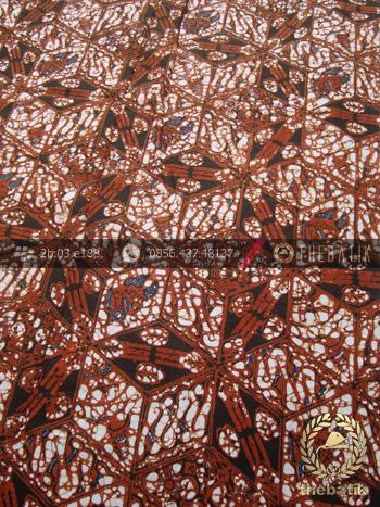 Kain Batik Motif Klasik Simetris Ceplok Nithik