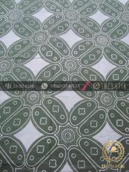 Kain Batik Bahan Baju Motif Kawung Besar Hijau