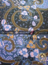 Kain Batik Pekalongan Cap Tulis Motif Kombinasi Biru