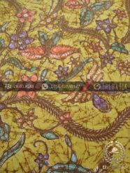 Kain Batik Bahan Baju Motif Remukan Floral Lemon