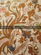 Kain Batik Solo Motif Burung Peksi Coletan