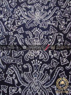 Kain Batik Tulis Motif Pisan Bali Hitam