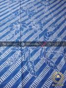 Batik Tulis Warna Alam Motif Buketan Biru Indigo
