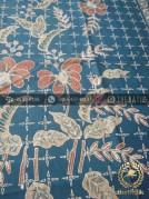 Batik Tulis Warna Alam Motif Buketan Titik Tosca