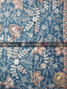 Batik Tulis Warna Alam Motif Floral Kupu-Kupu