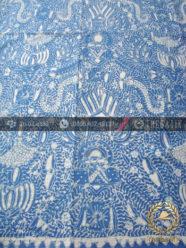 Batik Tulis Warna Alam Motif Semen Naga Indigo