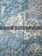 Batik Tulis Warna Alam Motif Semen Biru Kombinasi