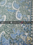 Batik Tulis Warna Alam Motif Semen Romo Hijau Biru