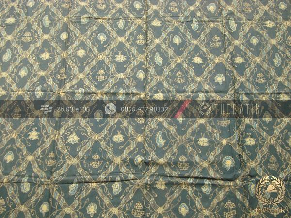 Batik Tulis Warna Alam Motif Sido Luhur Hijau
