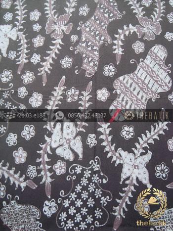 Batik Tulis Warna Alam Sekarjagad Coklat