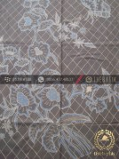 Batik Tulis Warna Alam Motif Buketan Abu-Abu