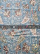 Kain Batik Tulis Warna Alam Motif Kupu Buketan
