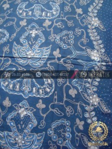 Jual Kain Batik Tulis Warna Alam Wahyu Tumurun Biru Thebatik Co Id