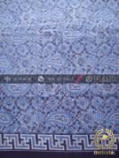 Kain Seragam Batik Pekalongan Motif Paisley Biru
