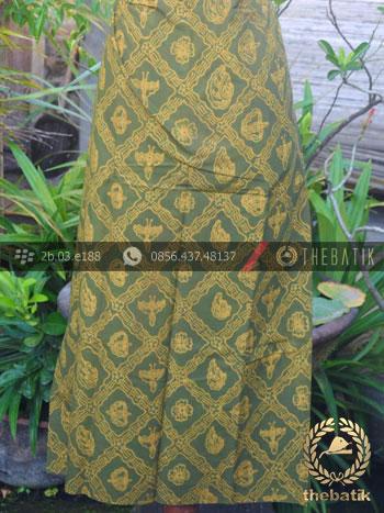 Kain Batik Tulis Warna Alam Sido Luhur Hijau