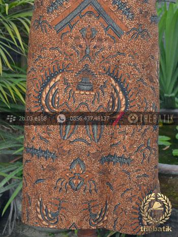 Gambar Motif Kain Batik Solo Semen Romo Klasik Soga Genes ccaf937510