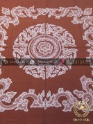 Indonesia Batik Wall Hangings Megamendung Coklat