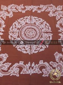Indonesia Batik Wall Hangings Megamendung Coklat