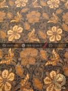 Bahan Batik Solo Klasik Motif Ceplokan Kembang Soga Genes