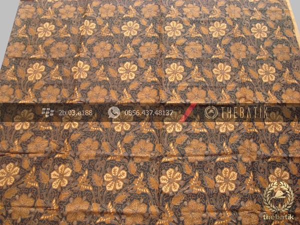 Bahan Batik Solo Klasik Motif Ceplokan Kembang Soga Genes  652089d39f