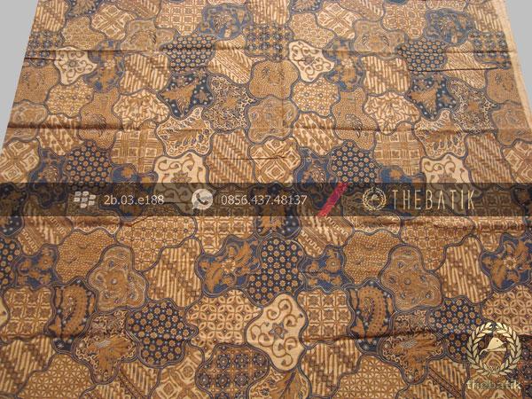 Jual Bahan Baju Batik Solo Motif Sekarjagad Klasik Soga Genes ... 404bf00ae4