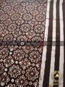 Bahan Sarung Batik Motif Ceplokan Seling Garis
