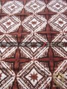 Kain Bahan Baju Batik Klasik Motif Ceplokan Gede Coklat