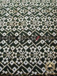 Kain Batik Modern Etnik Jogja Motif Cinde Klasik Hijau